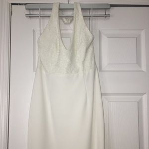 Beautiful off white dress-perfect for a wedding
